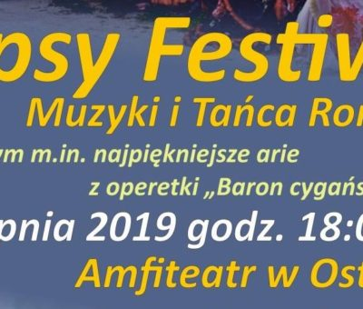 Gypsy Festiwal Muzyki i Tańca Romów w Ostródzie
