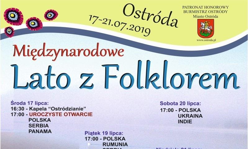 XIII Międzynarodowe Lato z Folklorem w Ostródzie