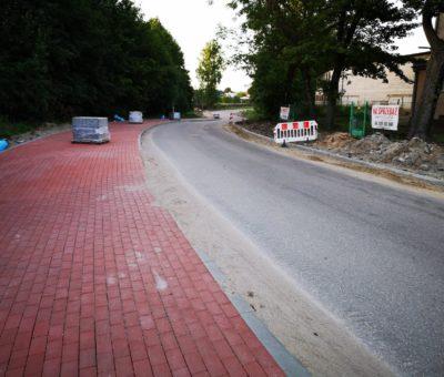 Ulica Plebiscytowa w Ostródzie